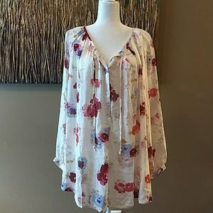 Lucky brand size 2x blouse new with tags